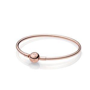 New Pandora Rose Bangle Bracelet